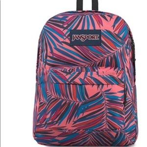 JanSport SuperBreak Dotted Palm